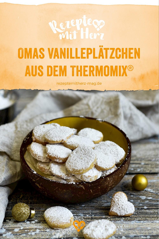 Thermomix-Rezept: Omas Vanille-Mandel-Plätzchen