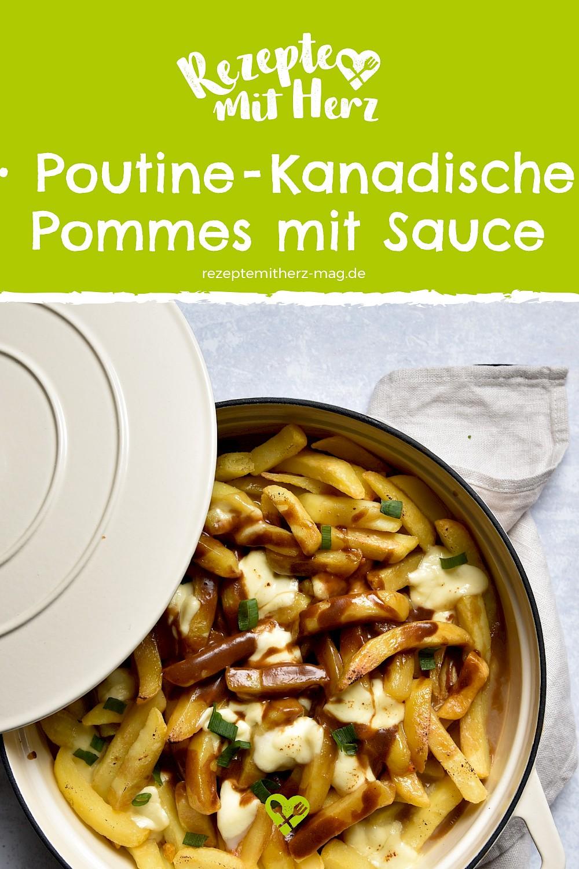 Poutine - Pommes frites mit Bratensauce aus dem Thermomix