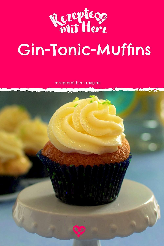 Gin-Tonic-Muffins - Thermomix-Rezept