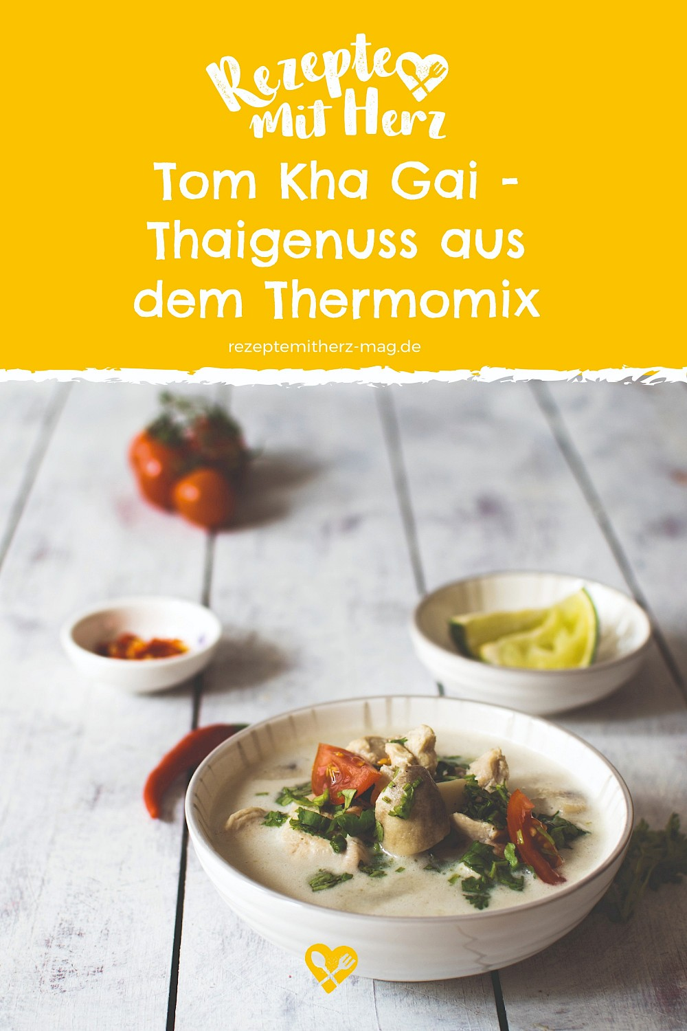 Tom Kha Gai - Thermomix-Rezept