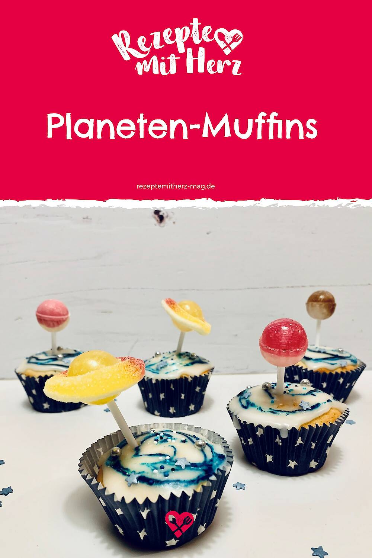 Planeten-Muffins für den Kindergeburtstag - Thermomix-Rezept