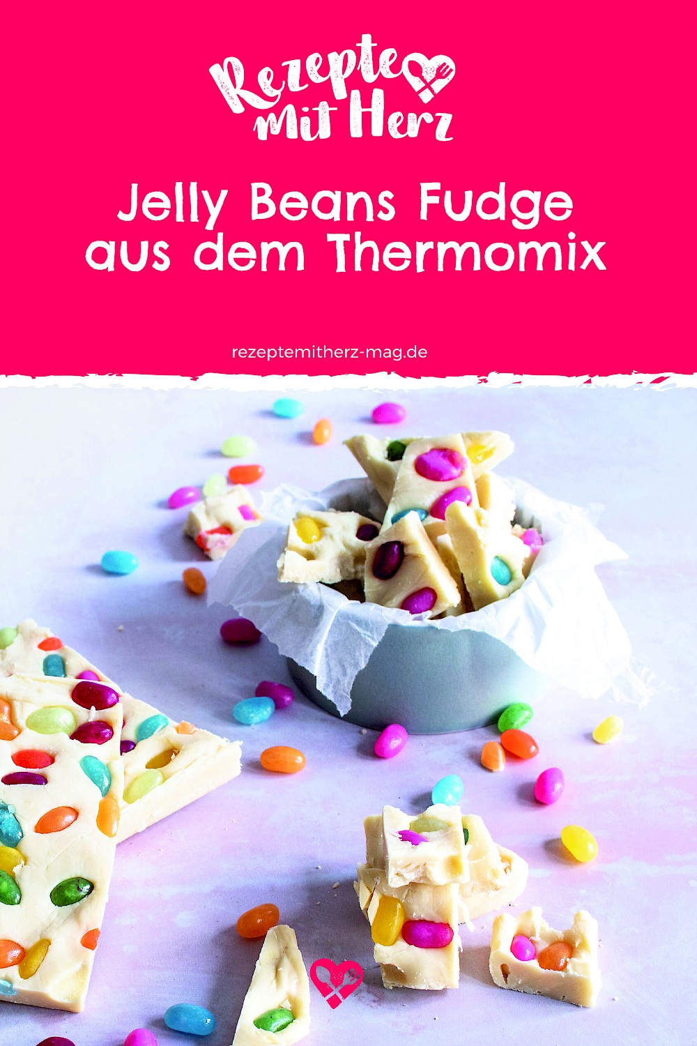 Jelly Beans Fudge aus dem Thermomix