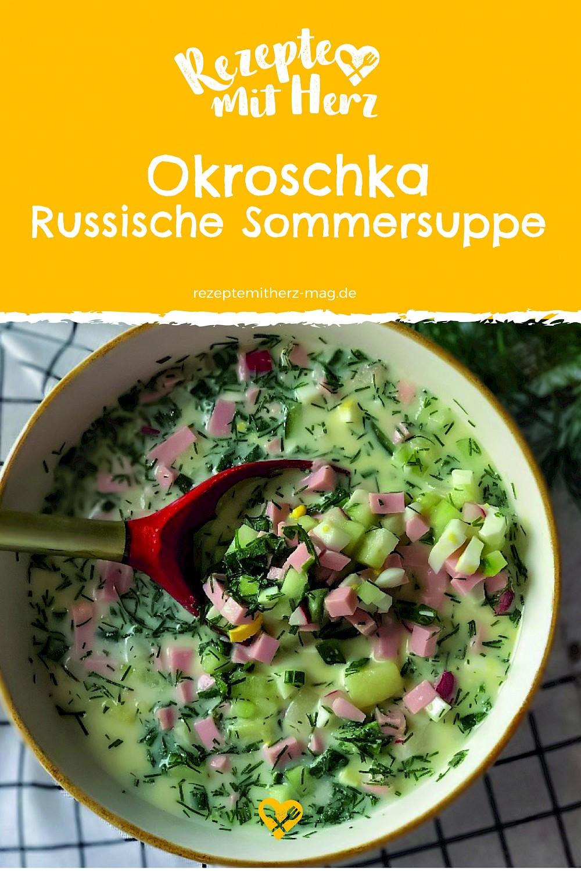 Okroschka - Russische Sommersuppe aus dem Thermomix