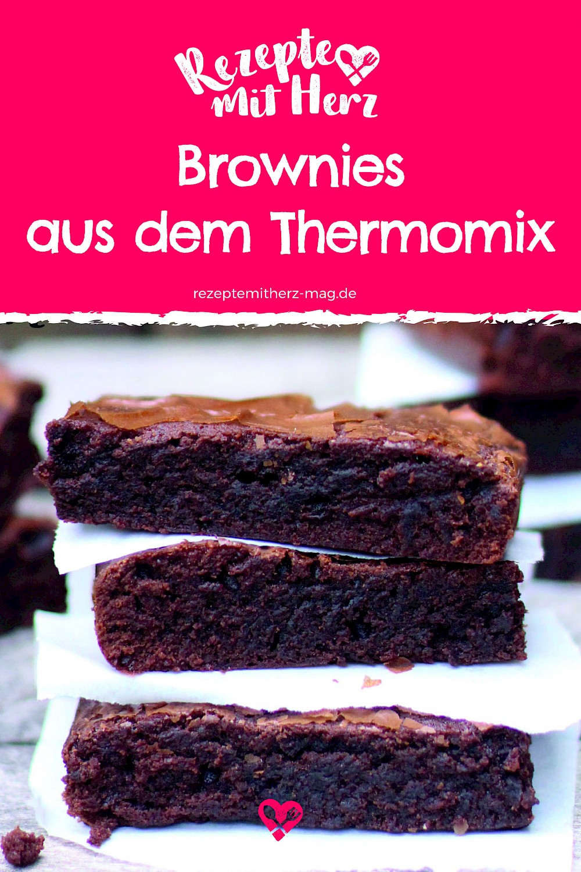 Leckeres und einfaches Brownie-Rezept für den Thermomix