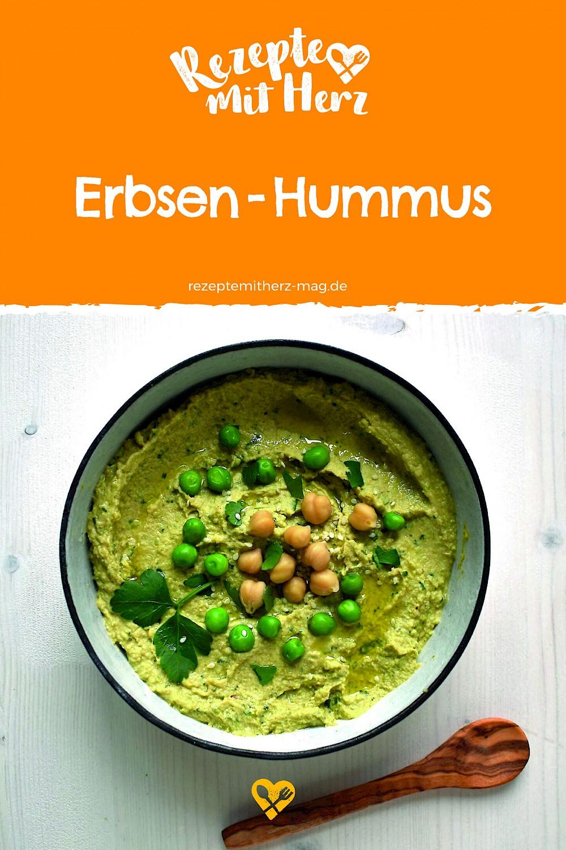 Erbsen-Hummus aus dem Thermomix