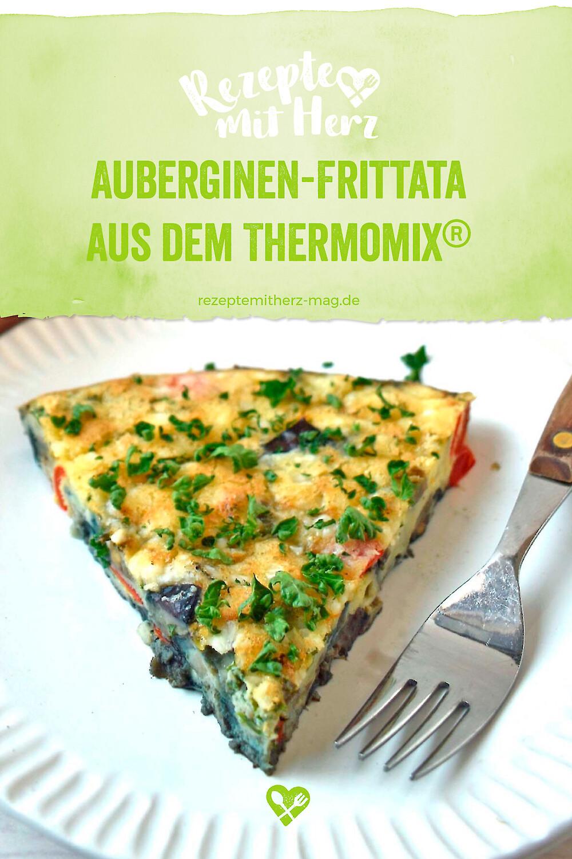Auberginen-Frittata aus dem Thermomix®