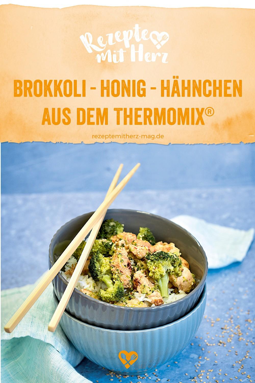 Brokkoli-Honig-Hähnchen aus dem Thermomix®