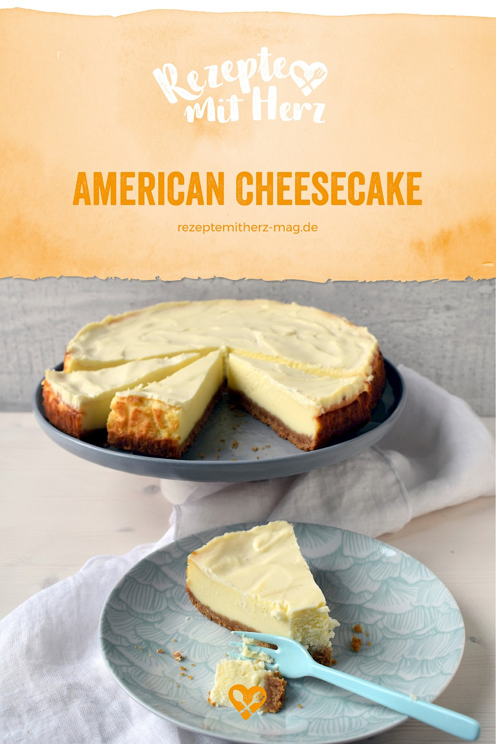 American Cheesecake - Thermomix-Rezept