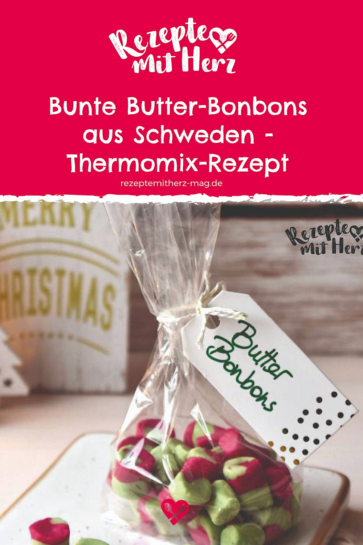 Thermomix-Rezept: Bunte Butter-Bonbons aus Schweden