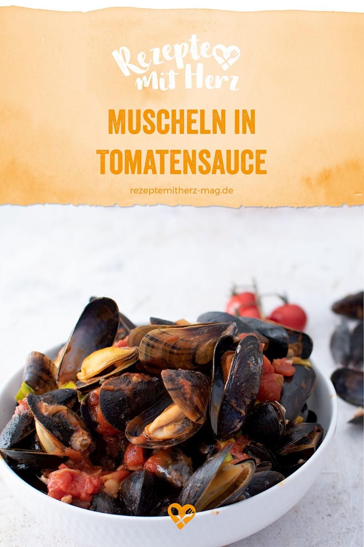 Muscheln in Tomatensauce - Thermomix-Rezept®