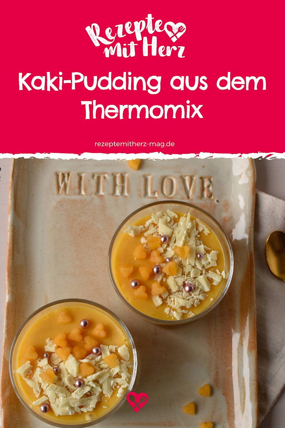 Kaki-Pudding aus dem Thermomix®