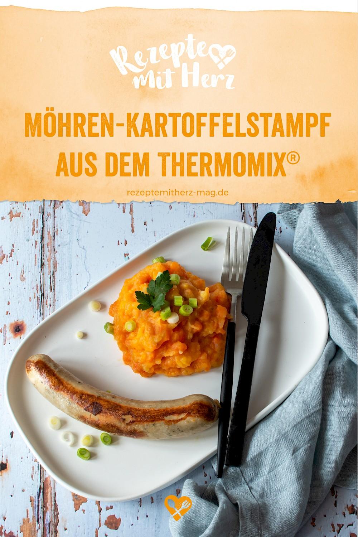 Möhren-Kartoffel-Stampf aus dem Thermomix®