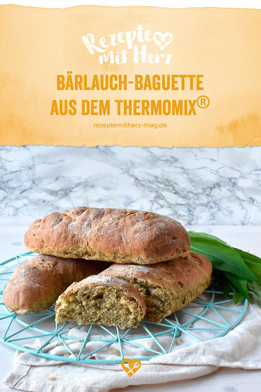 Bärlauch-Baguette aus dem Thermomix®