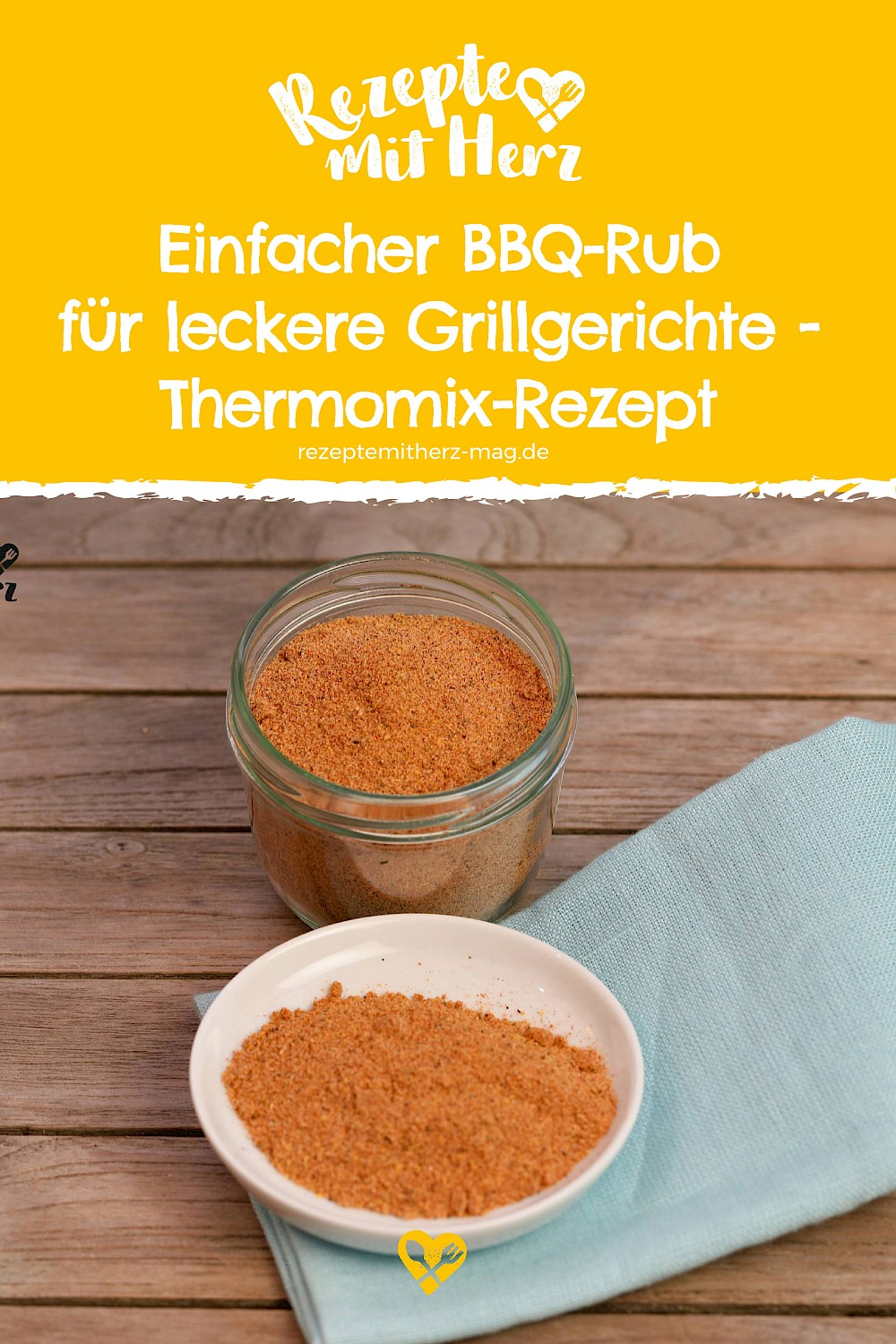 BBQ-Rub - Thermomix-Rezept