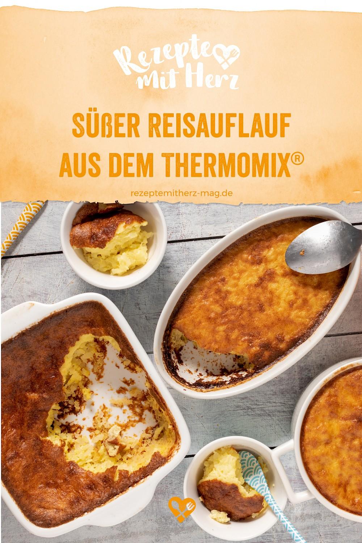 Süßer Reisauflauf aus dem Thermomix®