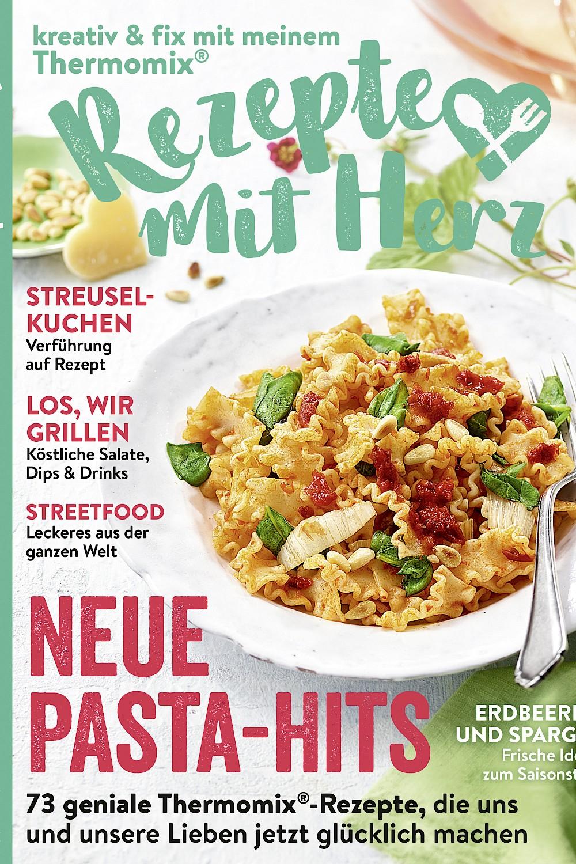 Rezepte mit Herz 3/2020 - Neue Pasta Hits - Thermomix-Rezepte
