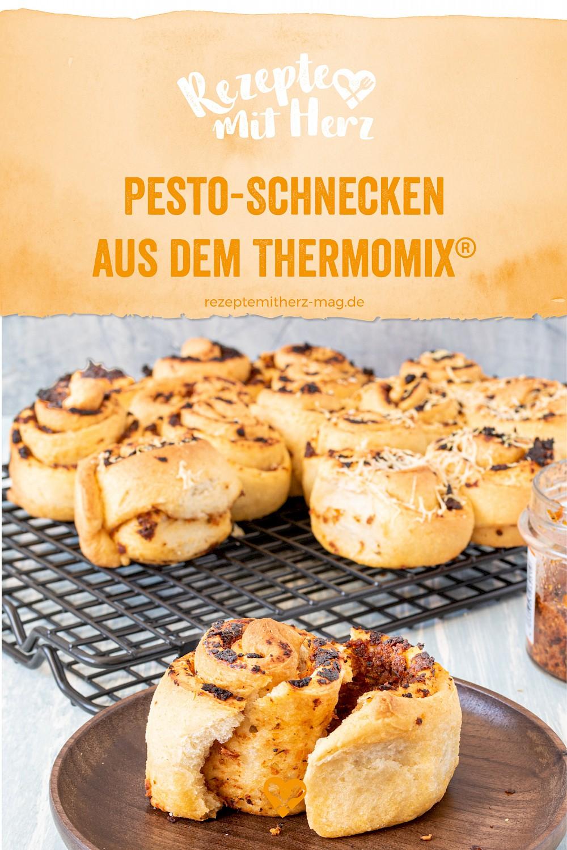 Pesto-Schnecken aus dem Thermomix®