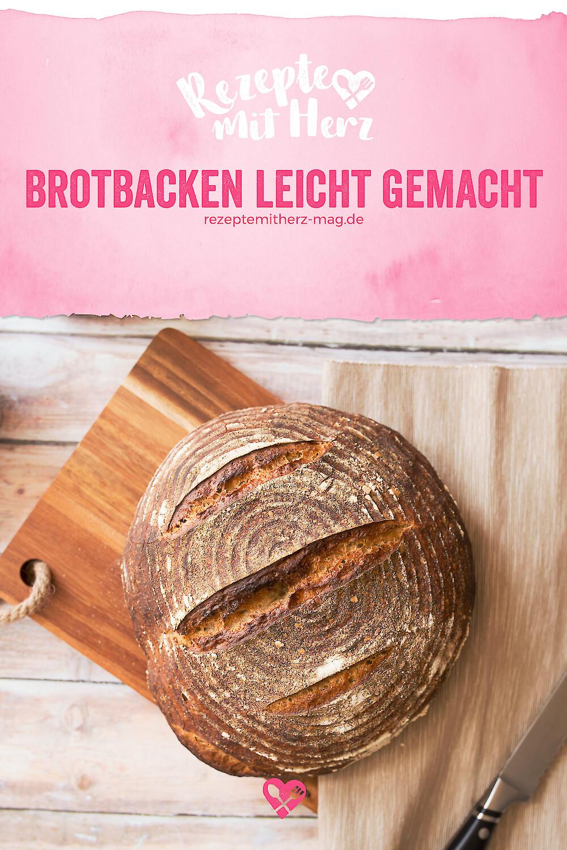 Das 1x1 das Brotbackens - Kleiner Grundkurs für Neueinsteiger