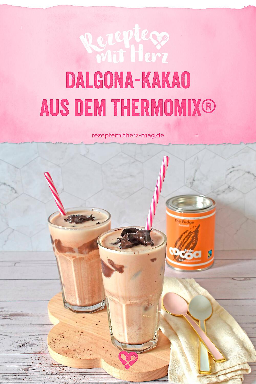 Dalgona-Kakao aus dem Thermomix®
