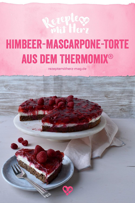 Himbeer-Mascarpone-Torte aus dem Thermomix