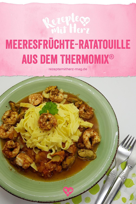 Meeresfrüchte-Ratatouille - Thermomix-Rezept