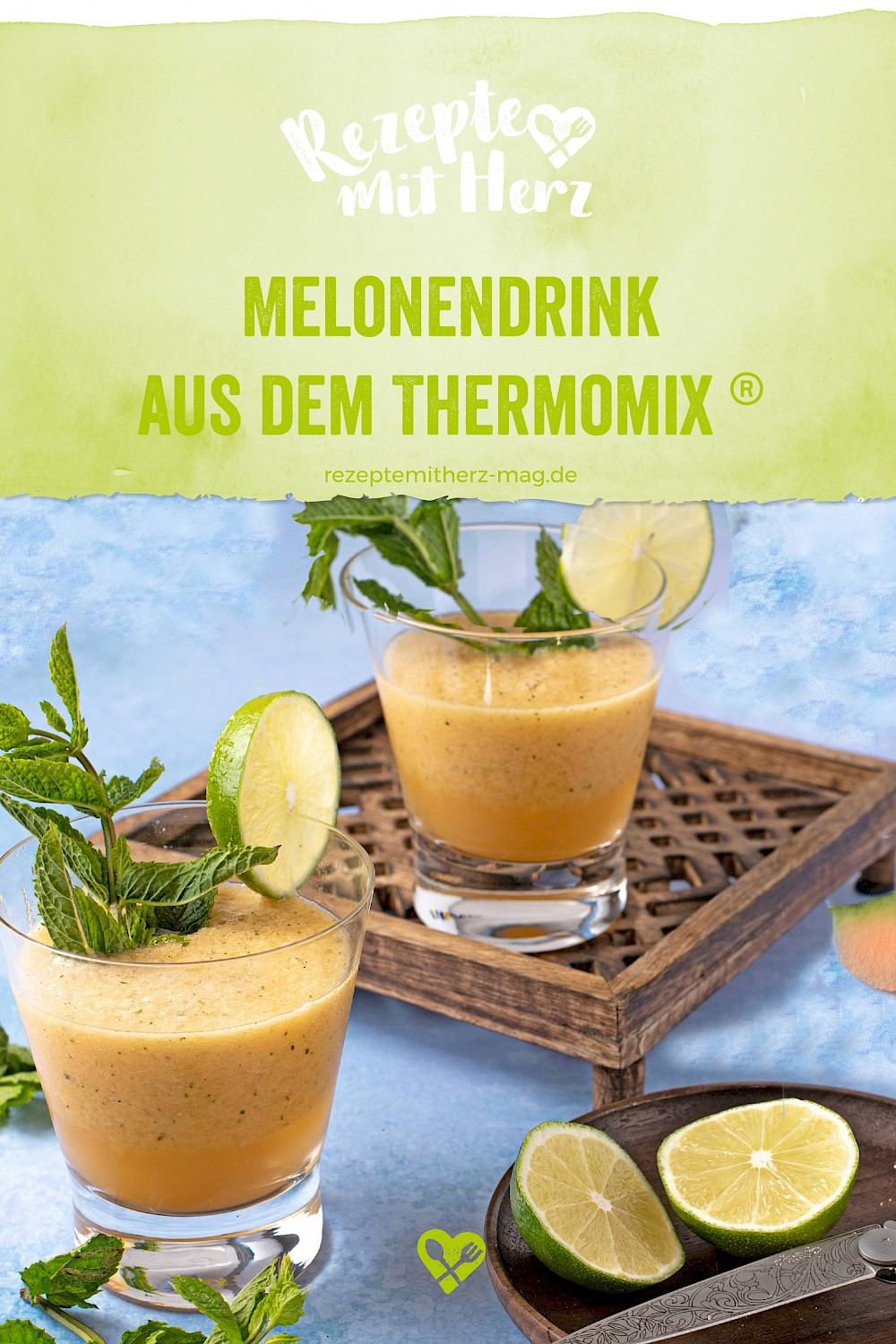 Melonendrink aus dem Thermomix®