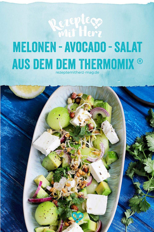 Melonen-Avocado-Salat aus dem Thermomix®
