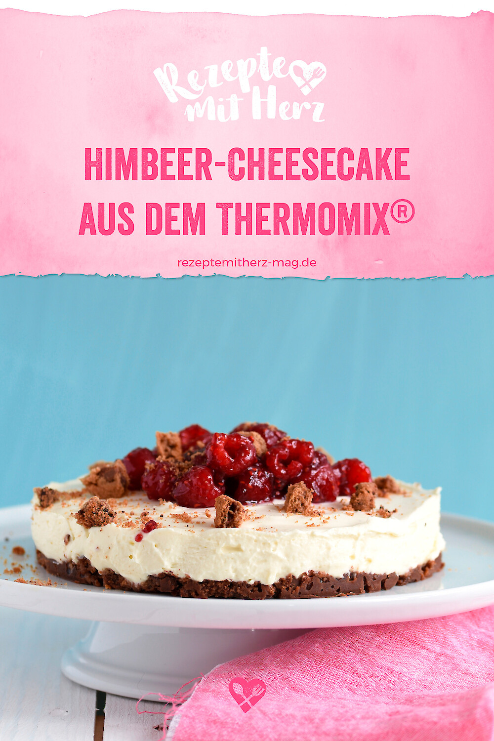 Himbeer-Cheesecake aus dem Thermomix®