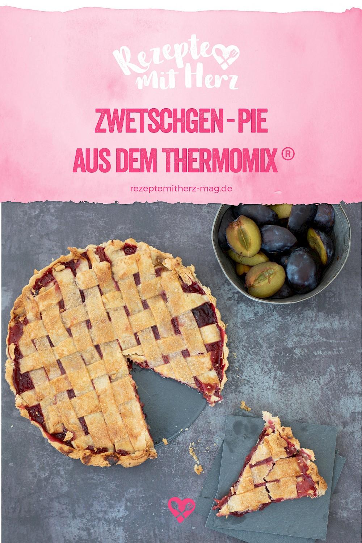 Zwetschgen-Pie  aus dem Thermomix®