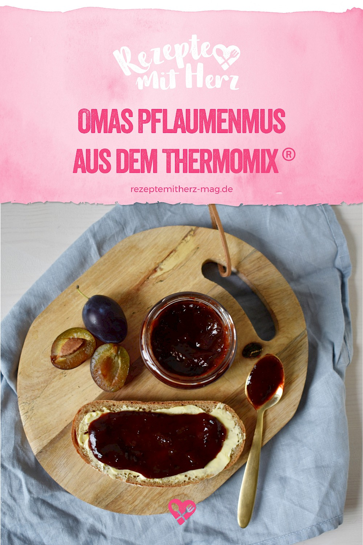 Omas Pflaumenmus aus dem Thermomix