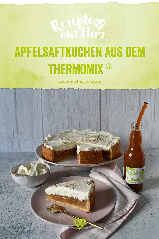 Apfelsaft-Kuchen aus dem Thermomix