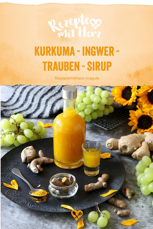 Kurkuma-Ingwer-Trauben-Sirup aus dem Thermomix