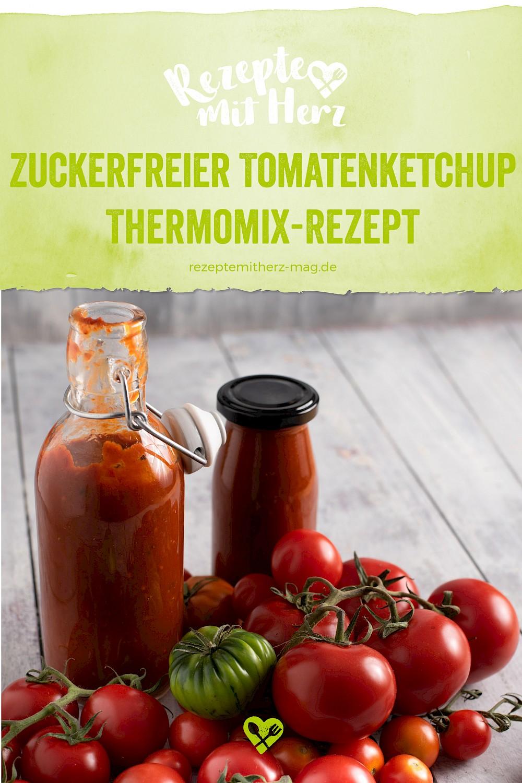 Zuckerfreier Tomatenketchup aus dem Thermomix®
