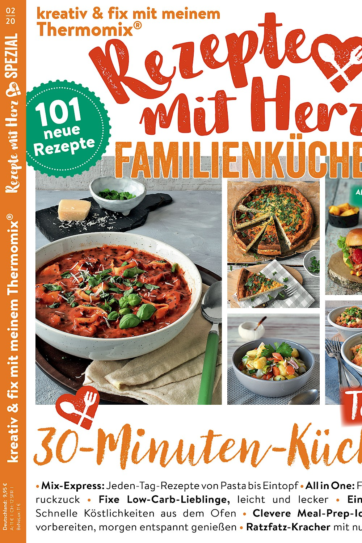 SPEZIAL Familienküche 2/2020 Rezepte für den Thermomix