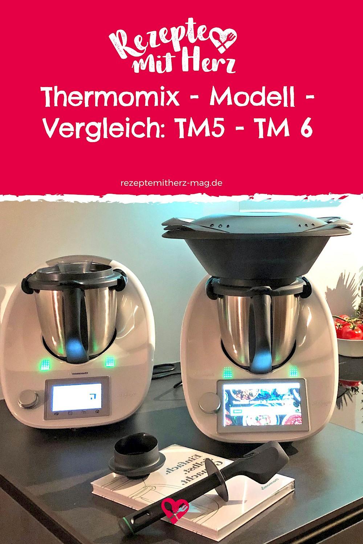 Funktionen und Besonderheiten der Thermomix®-Modelle TM31, TM5 und TM6