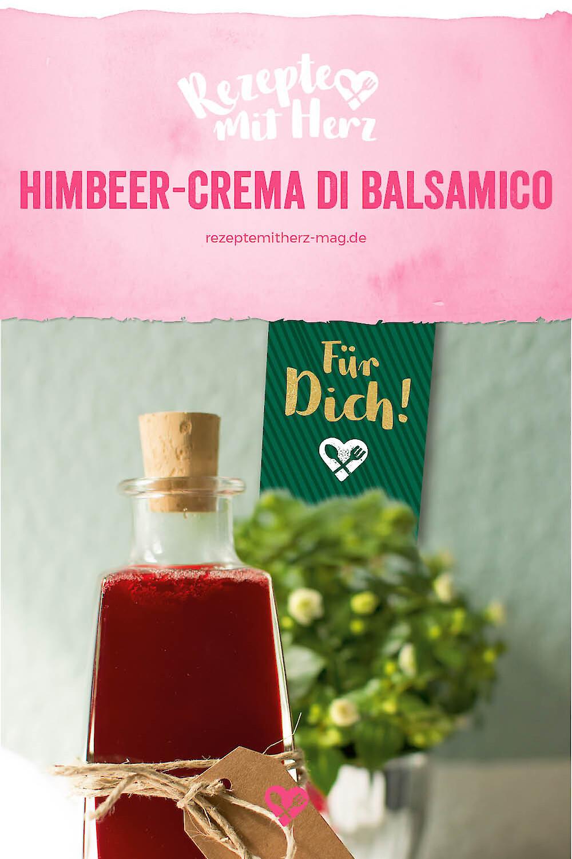Himbeer-Crema di Balsamico aus dem Thermomix ®