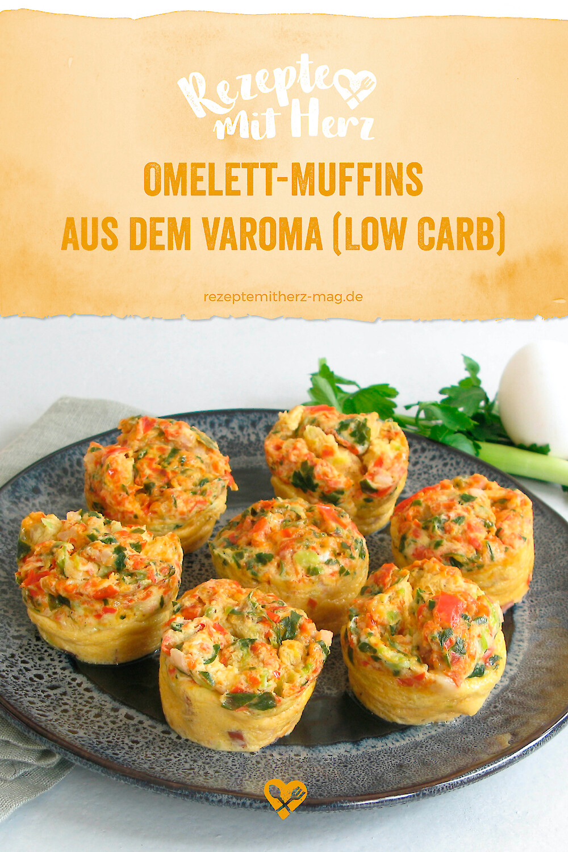Omelett-Muffins aus dem Varoma (Low Carb)