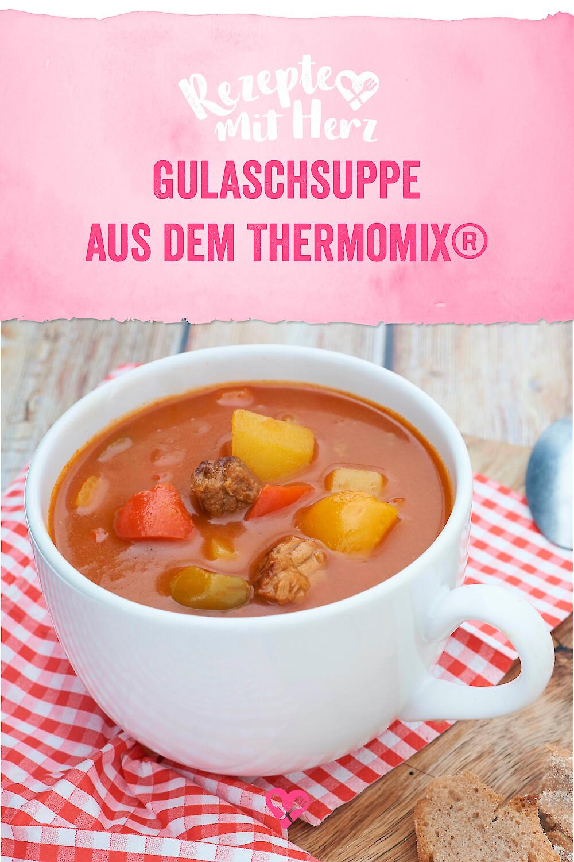 Gulaschsuppe aus dem Thermomix®