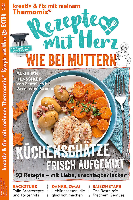 """EXTRA """"Wie bei Muttern"""" 2/2021 - 93 Rezepte für den Thermomix"""