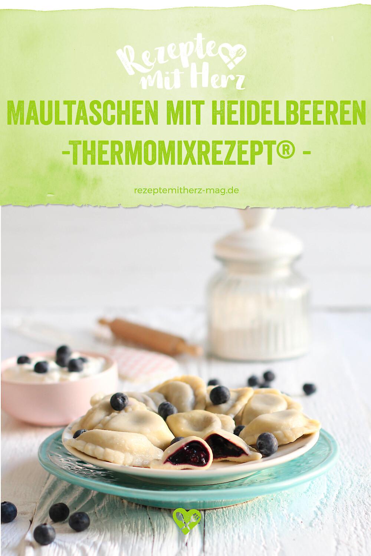 Maultaschen mit Heidelbeeren aus dem Thermomix®