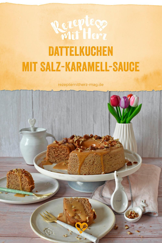 Dattelkuchen mit Salz-Karamell-Sauce (Sticky Toffee Pudding)