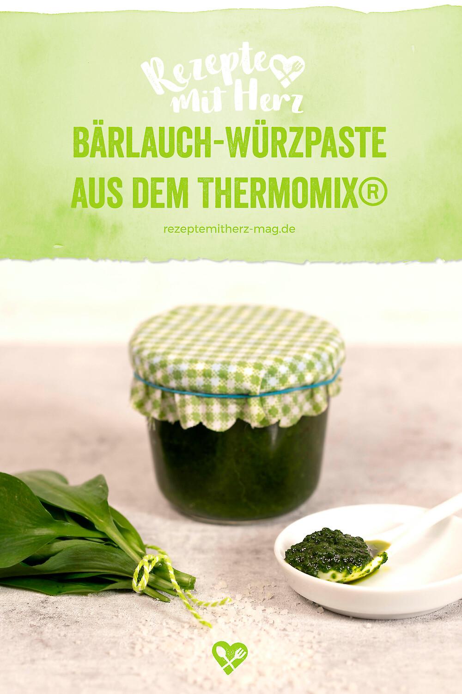 Bärlauch-Würzpaste aus dem Thermomix®
