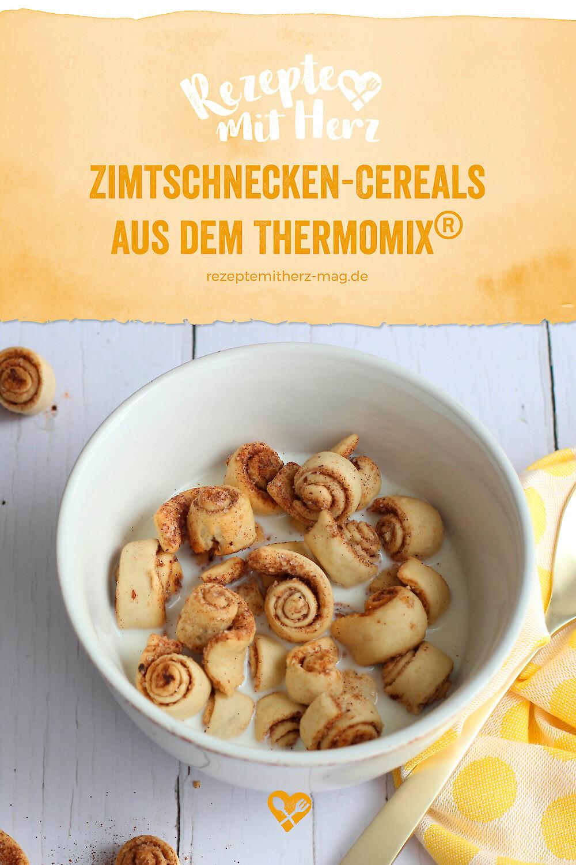 Zimtschnecken-Cereals aus dem Thermomix®