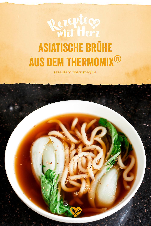 Asiatische Brühe aus dem Thermomix