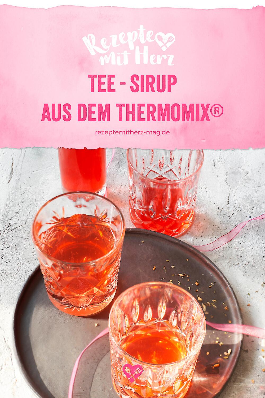 Tee-Sirup aus dem Thermomix