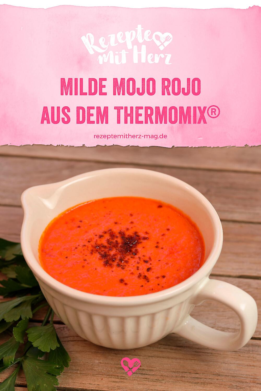 Milde Mojo Rojo aus dem Thermomix