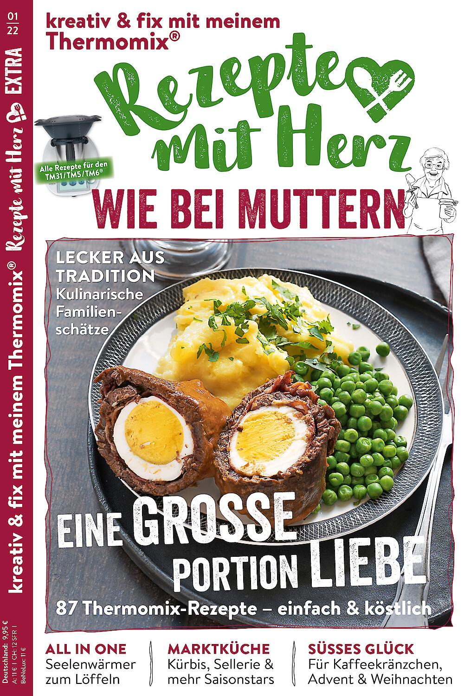 """EXTRA """"Wie bei Muttern"""" 1/2022 - 87 Rezepte für den Thermomix"""