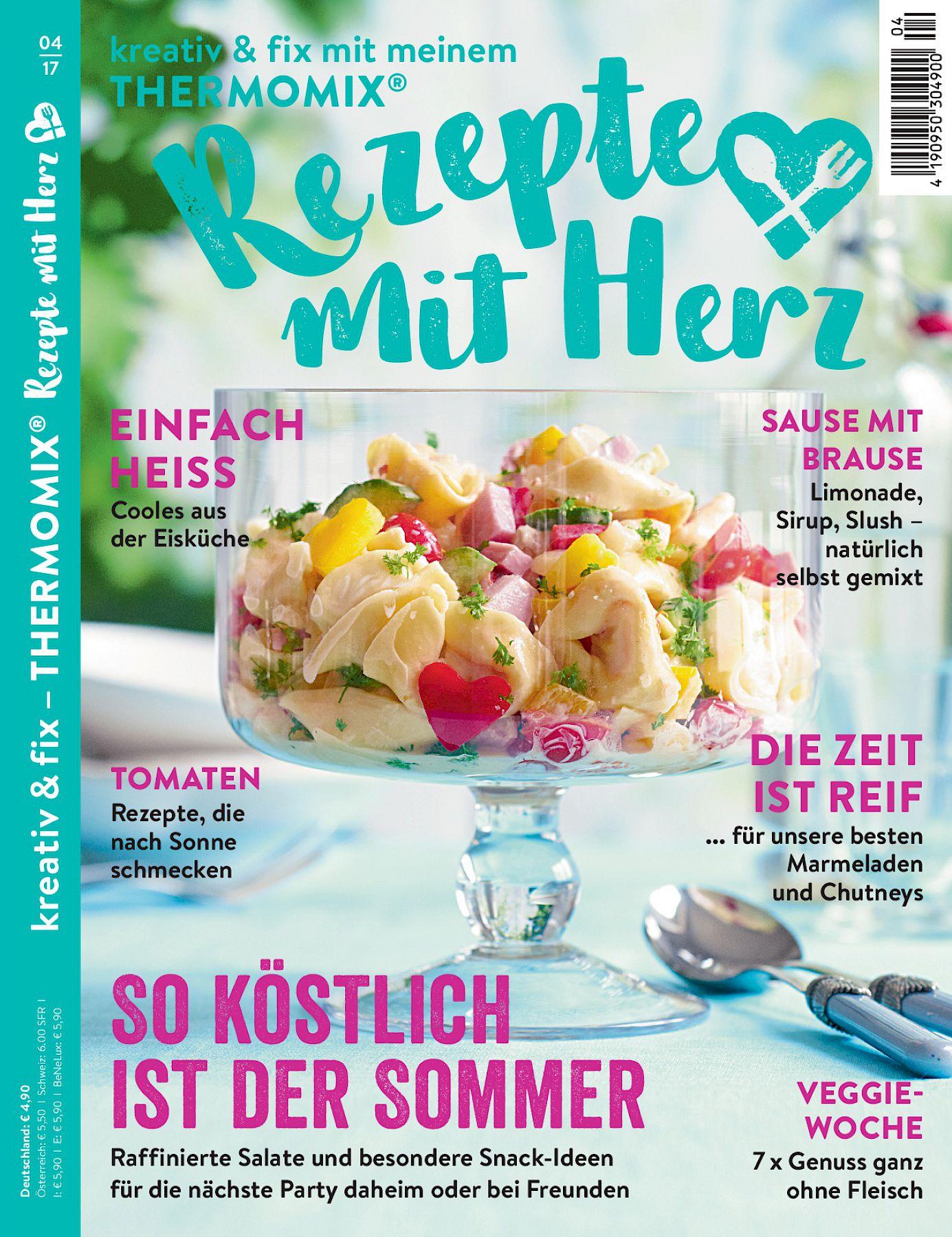 Zeitschrift Rezepte ausgabe 2017 04 rezepte mit herz