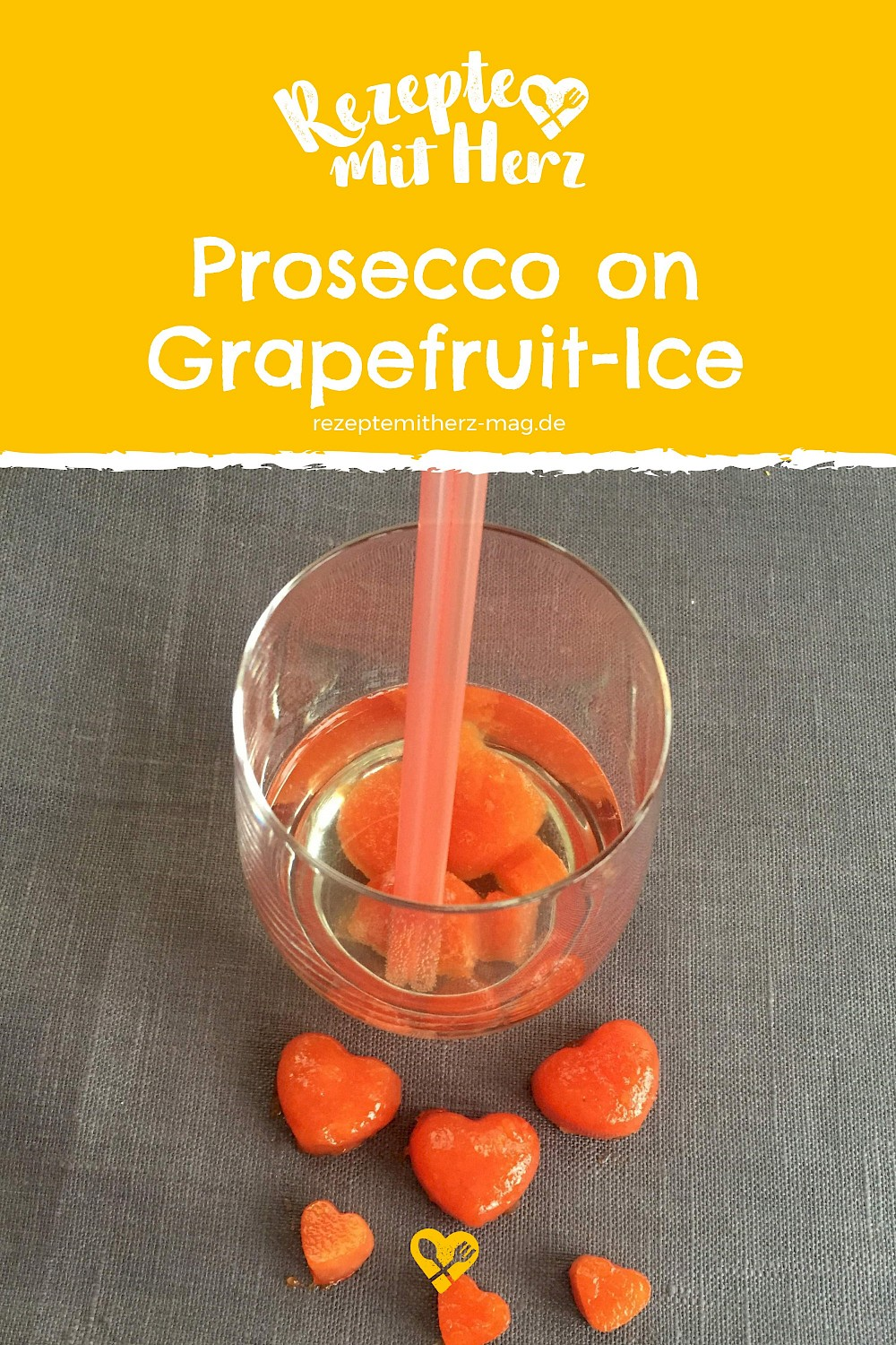 Prosecco on (Grapefruit) Ice