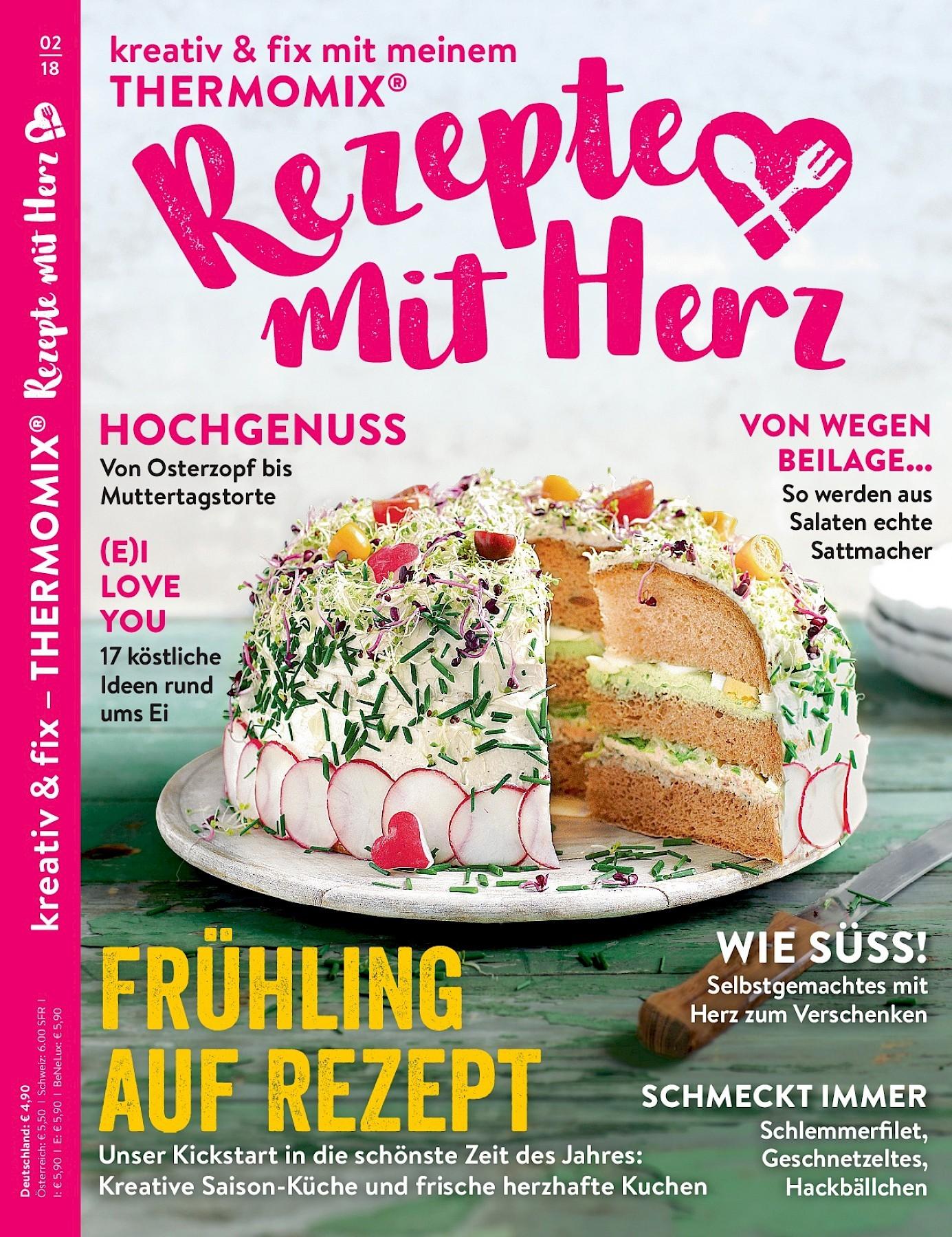 Rezepte Mit Herz 2 2018 Fruhlingsrezepte Aus Dem Thermomix